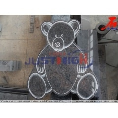Lovely Baby granite headstone with